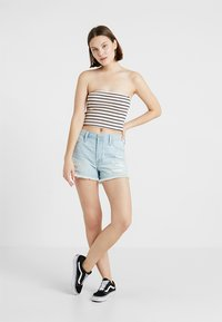 Hollister Co. - SLIM CROP TUBE - Top - pink - 1