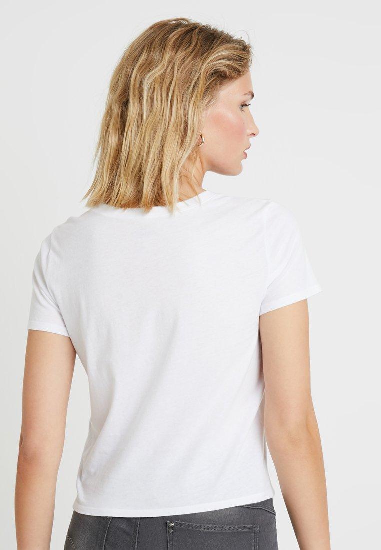 CoBABY imprimé white shirt TEET Hollister AL3Rj54