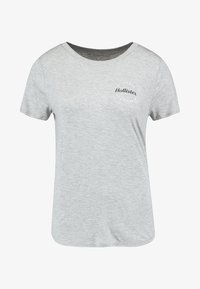 Hollister Co. - EASY FIT PRINTED LOGO TEE - Jednoduché triko - grey - 4