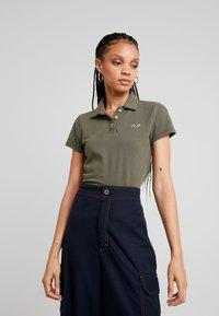 Hollister Co. - CORE  - Polo shirt - olive - 0