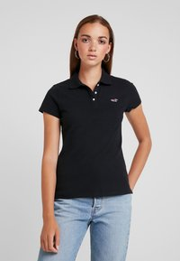 Hollister Co. - CORE  - Polo shirt - black - 0