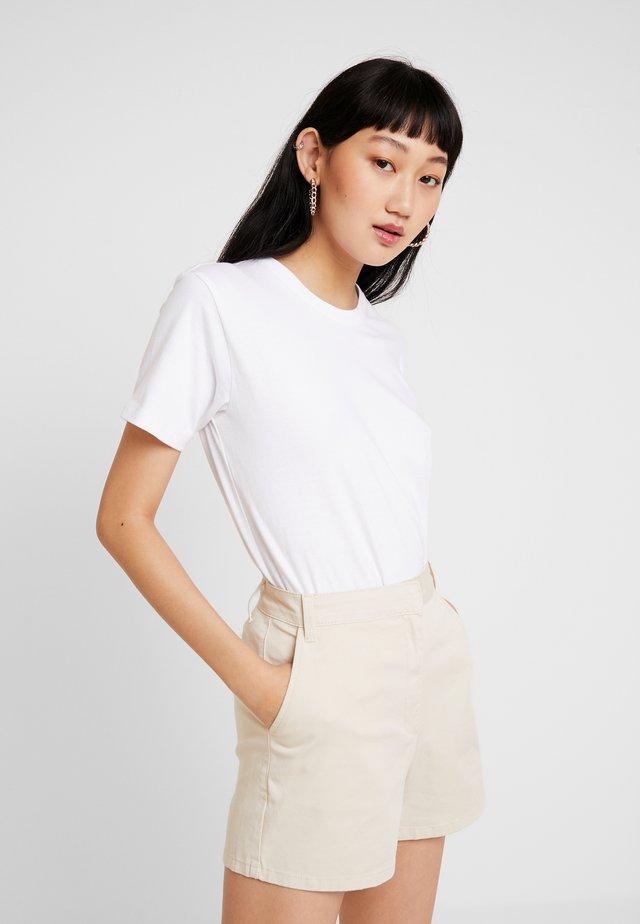 TEE - T-shirt - bas - white