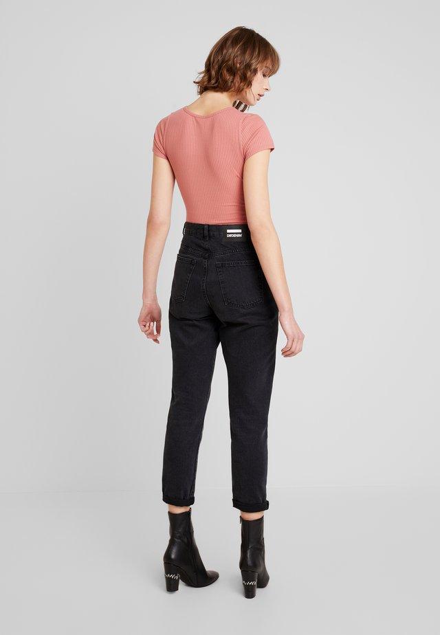 SLIM HENLEY - Camiseta estampada - canyon rose
