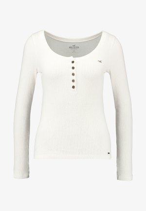 COZY HENLEY  - Jersey de punto - white