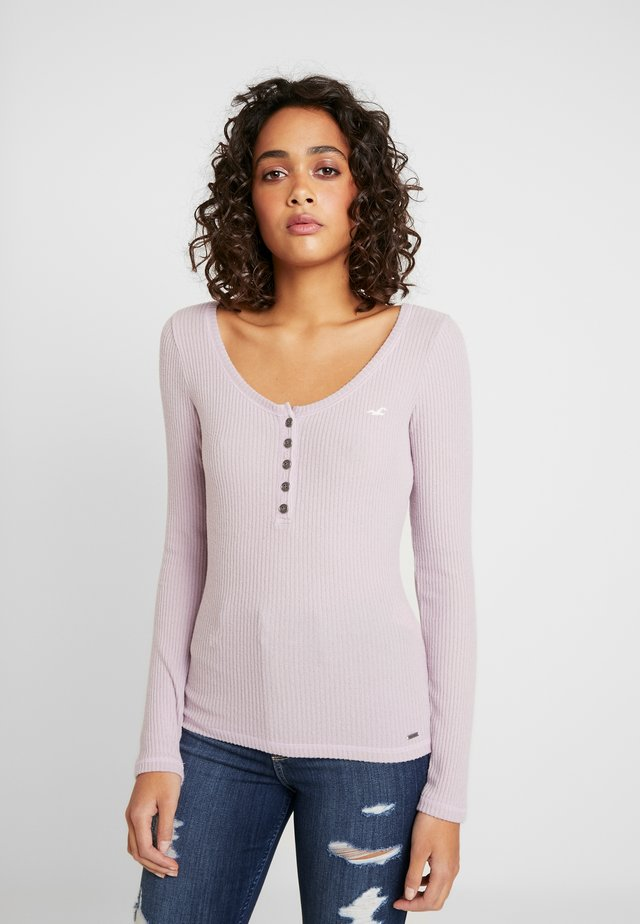 COZY HENLEY  - Stickad tröja - lavender