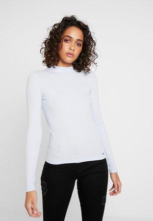 SLIM MOCK - Langærmede T-shirts - xenon blue