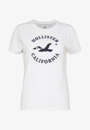 INCREMENTAL TECH CORE - T-shirts med print - white