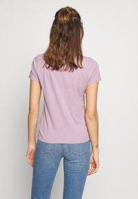 Hollister Co. - INCREMENTAL TECH CORE - Camiseta estampada - seafog - 2
