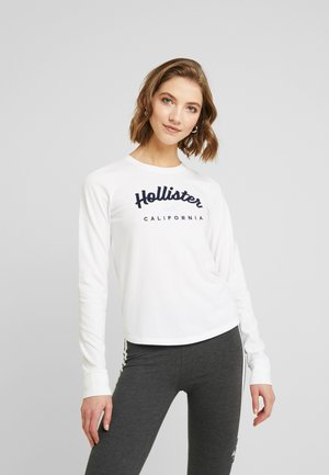 CLASSIC TIMELESS TECH  - Long sleeved top - white