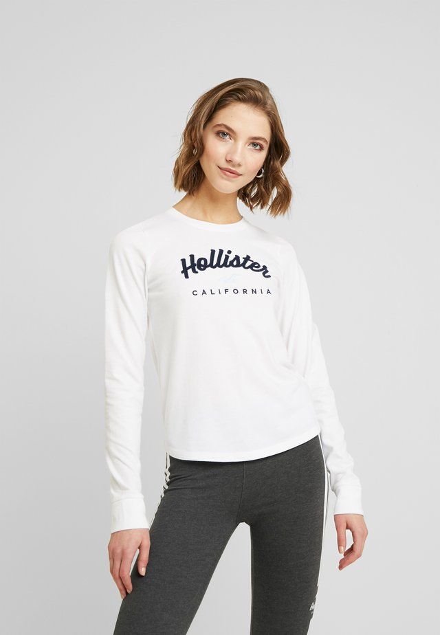 CLASSIC TIMELESS TECH  - Camiseta de manga larga - white