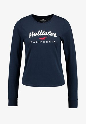 CLASSIC TIMELESS TECH  - Long sleeved top - navy
