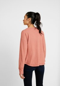 Hollister Co. - SLOUCHY SHOULDER EASY - Svetr - canyuon rose - 2