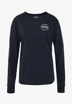 FLOCK CORE - Longsleeve - navy