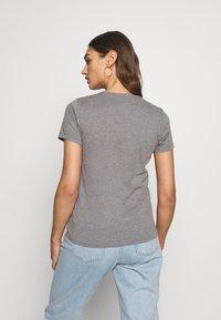 Hollister Co. - INCREMENTAL TECH CORE  - Print T-shirt - grey - 2