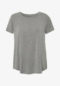 Hollister Co. - EASY CREW  - Basic T-shirt - grey - 3