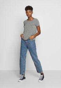 Hollister Co. - EASY CREW  - Basic T-shirt - grey - 1
