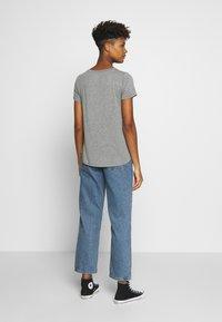 Hollister Co. - EASY CREW  - Basic T-shirt - grey - 2