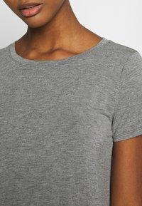 Hollister Co. - EASY CREW  - Basic T-shirt - grey - 4