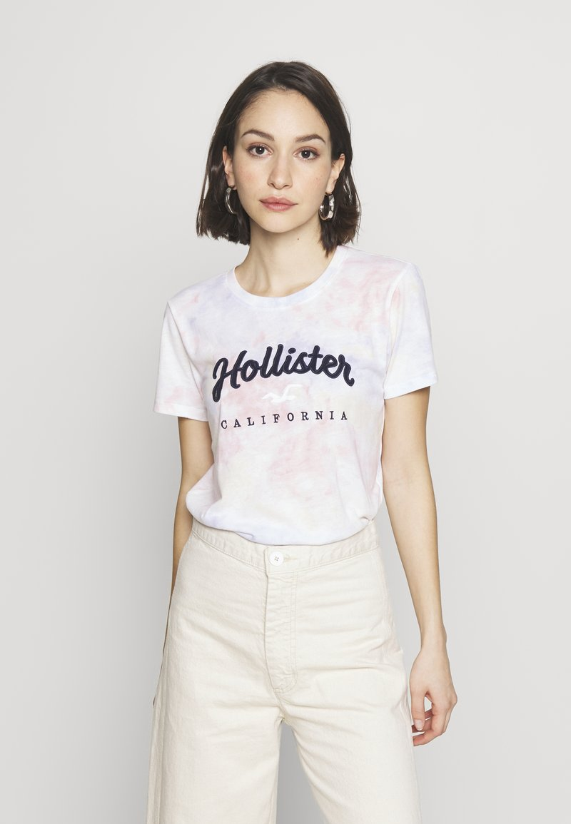 Hollister Co. - TECH CORE - Print T-shirt - multi wash