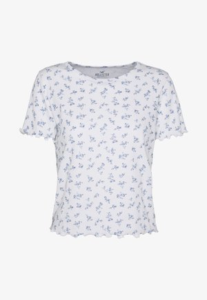LETTUCE BABY - T-Shirt print - white floral