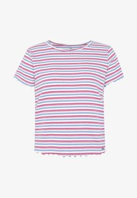 Hollister Co. - BABY TEE  - Print T-shirt - white stripe - 3