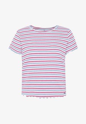 BABY TEE  - Camiseta estampada - white stripe