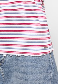 Hollister Co. - BABY TEE  - Print T-shirt - white stripe - 4