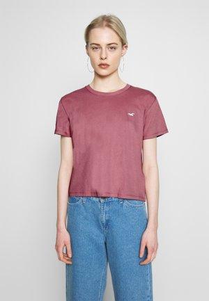 Print T-shirt - dusty rose
