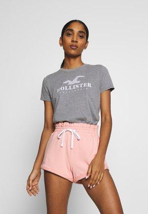 INCREMENTAL TECH CORE - Camiseta estampada - grey