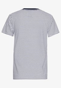 Hollister Co. - Print T-shirt - blue/white - 1