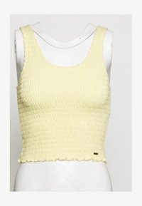 Hollister Co. - SMOCKED BOY TANK - Top - yellow - 2