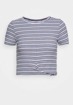 TWIST FRONT - Basic T-shirt - multi