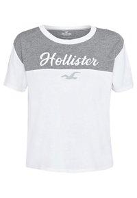 Hollister Co. - SPORTY - Print T-shirt - grey - 3