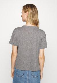 Hollister Co. - TIMELESS LOGO - Print T-shirt - grey - 2