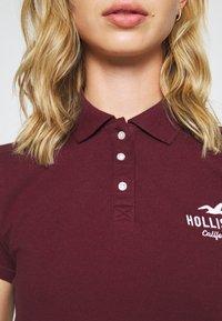 Hollister Co. - CORE LOGO - Polo - bordeaux - 5