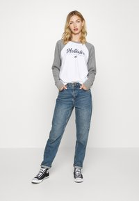 Hollister Co. - SPORTY - Topper langermet - grey - 1