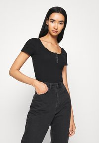 Hollister Co. - Basic T-shirt - black - 0