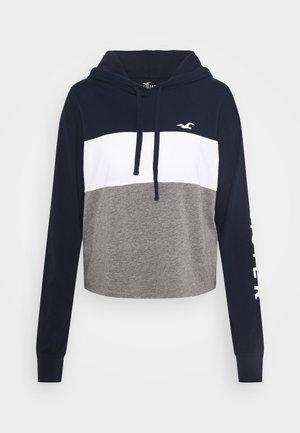 HOODIE - Long sleeved top - grey