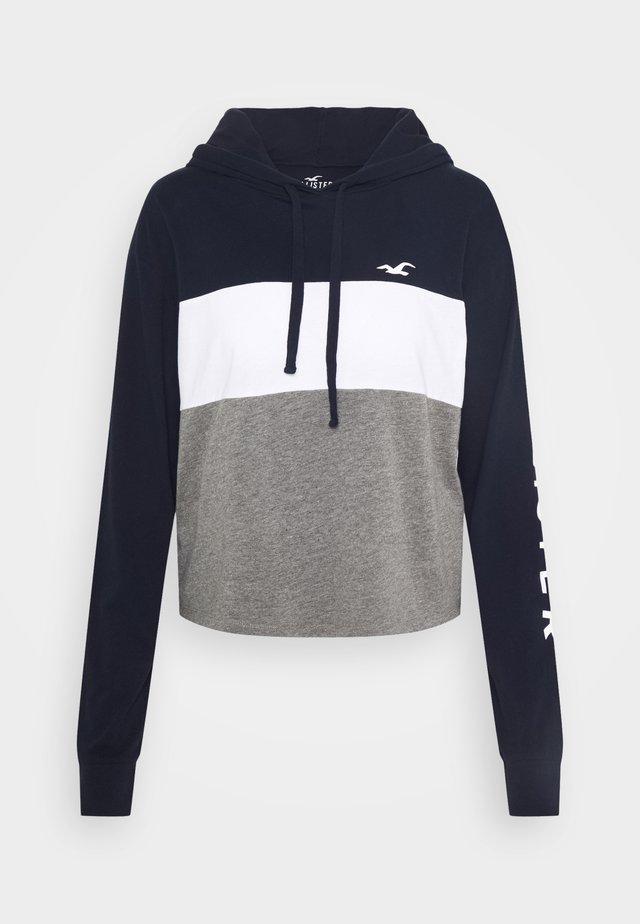 HOODIE - T-shirt à manches longues - grey