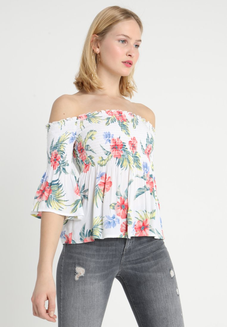 Hollister Co. - Bluse - white pattern