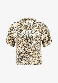Hollister Co. - SHORT SLEEVE CAMP - Button-down blouse - tan - 3