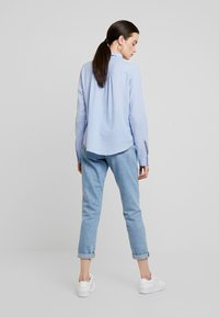 Hollister Co. - LONG SLEEVE POPOVER - Blouse - french blue - 2
