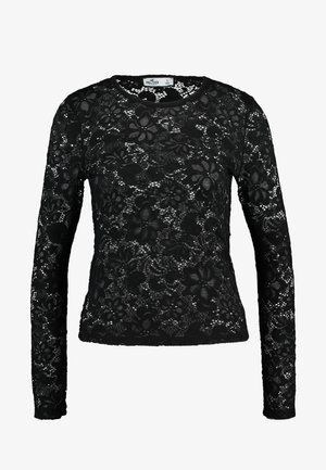 LONG SLEEVE - Blouse - black