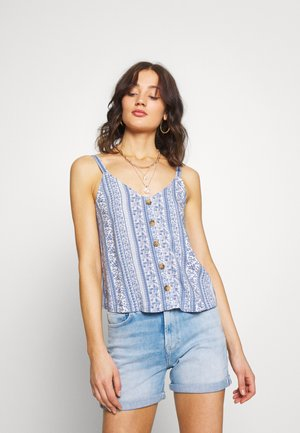 BARE VOLUME DRIVING CAMI - Top - blue