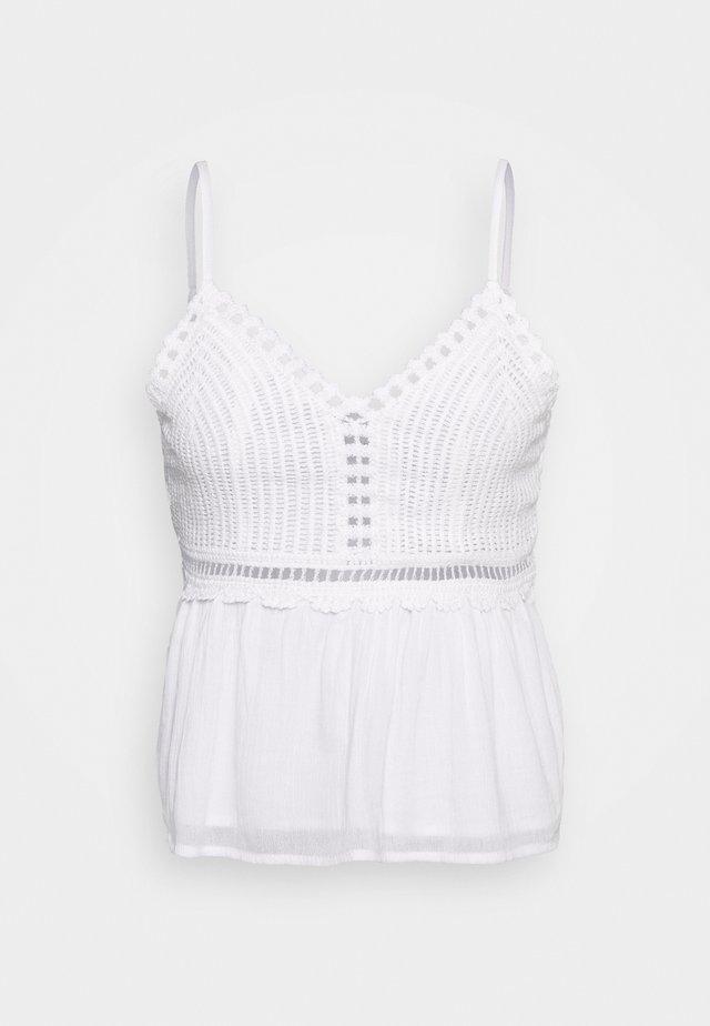 BARE PRETTY - Linne - white