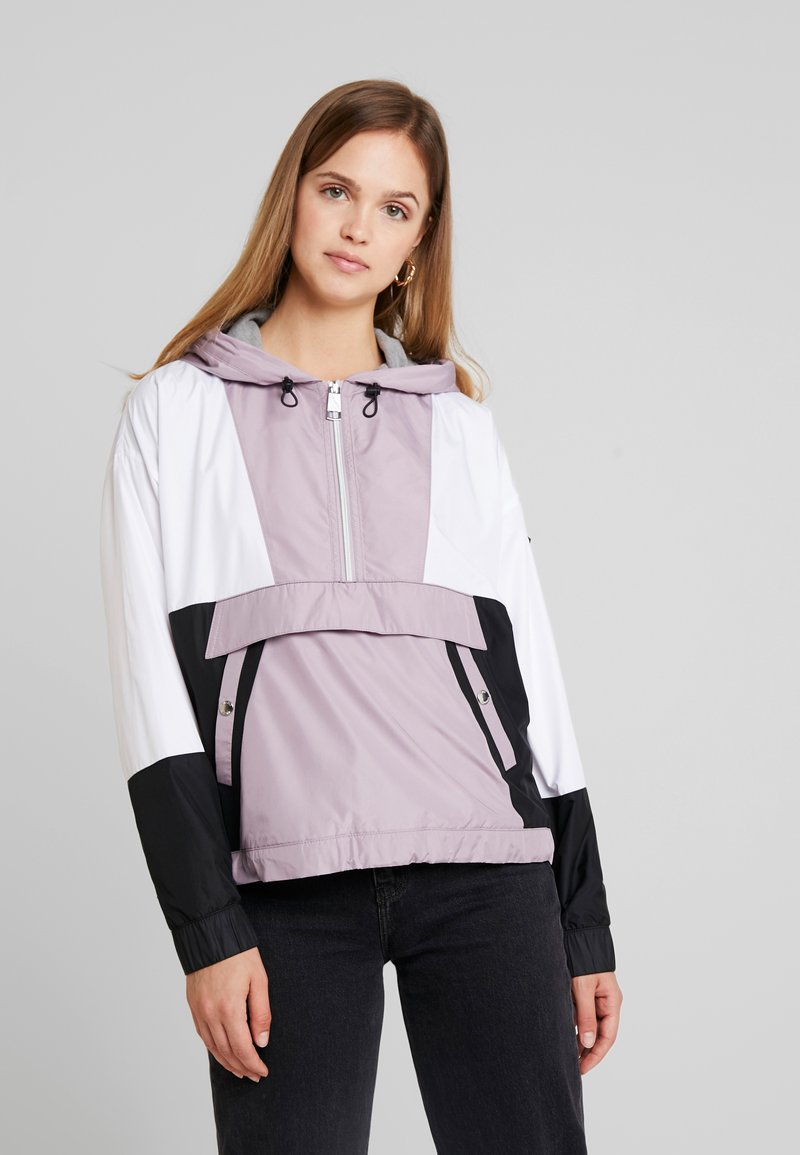 Hollister Co. - OVERSIZED POPOVER - Windbreaker - lavender
