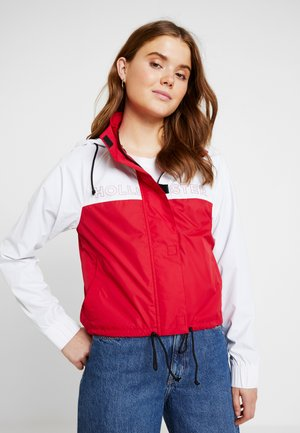MEET GREET POPOVER - Veste coupe-vent - red
