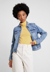 Hollister Co. - CLASSIC JACKET - Spijkerjas - blue denim - 0