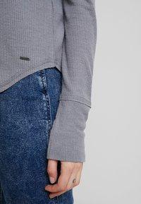 Hollister Co. - LONG SLEEVE EASY - Long sleeved top - grey - 5
