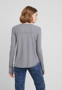 Hollister Co. - LONG SLEEVE EASY - Long sleeved top - grey - 2